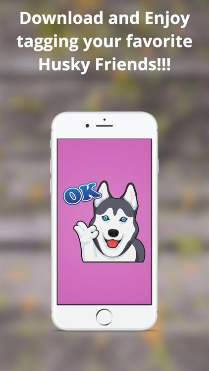HuskyLuvMoji screenshot-3