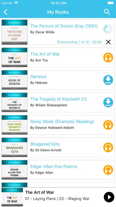 Literature Audiobooks screenshot three