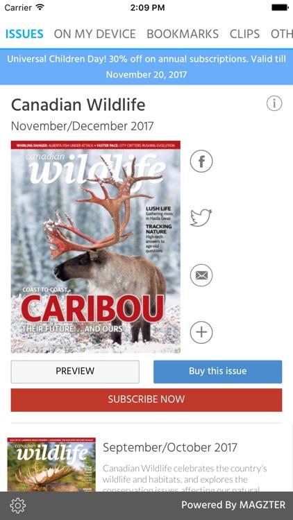 Canadian Wildlife Magazine