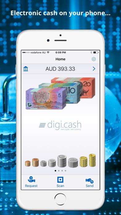 digi.cash screenshot one