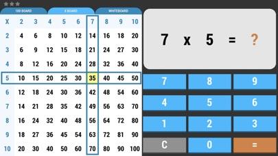 Screenshot of Math Facts To 100 App