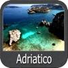 Adriatic sea GPS Nautical Maps