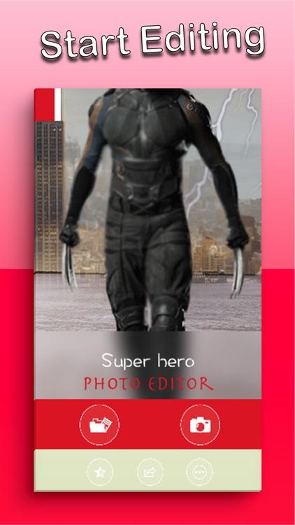 Super Hero Photo Editor Face