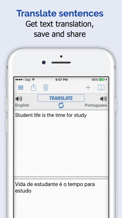 Portuguese Dictionary + screenshot three