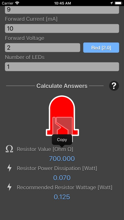 LED Resistor Calculator Plus