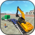 Construction Machine Transport icon