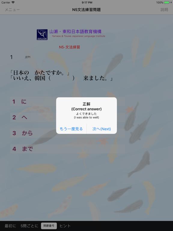 N5 文法 まとめ+練習問題 screenshot 17