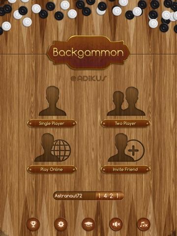 Backgammon Скриншоты8