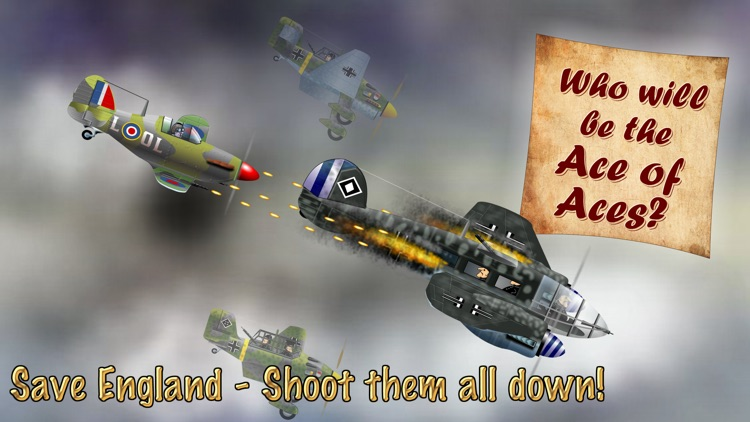 Little Warbirds - Battle of Britain screenshot-4