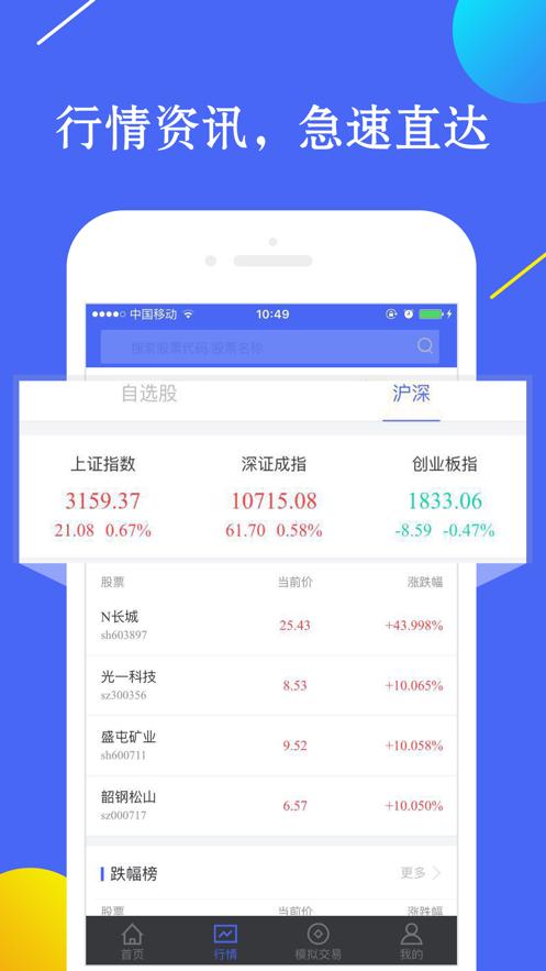股票配资吧-股市炒股票免开户策略软件 App 截图