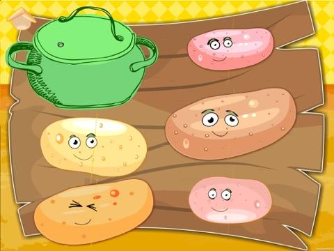 Les légumes drôles! Jeux éducatifs pour les enfant