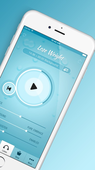 Screenshot #2 pour Weight Loss Hypnosis PRO