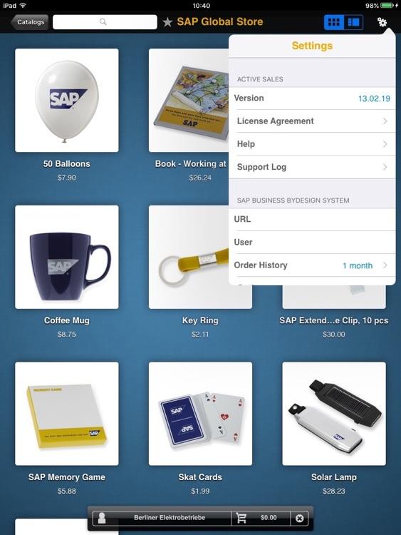 SAP Active Sales