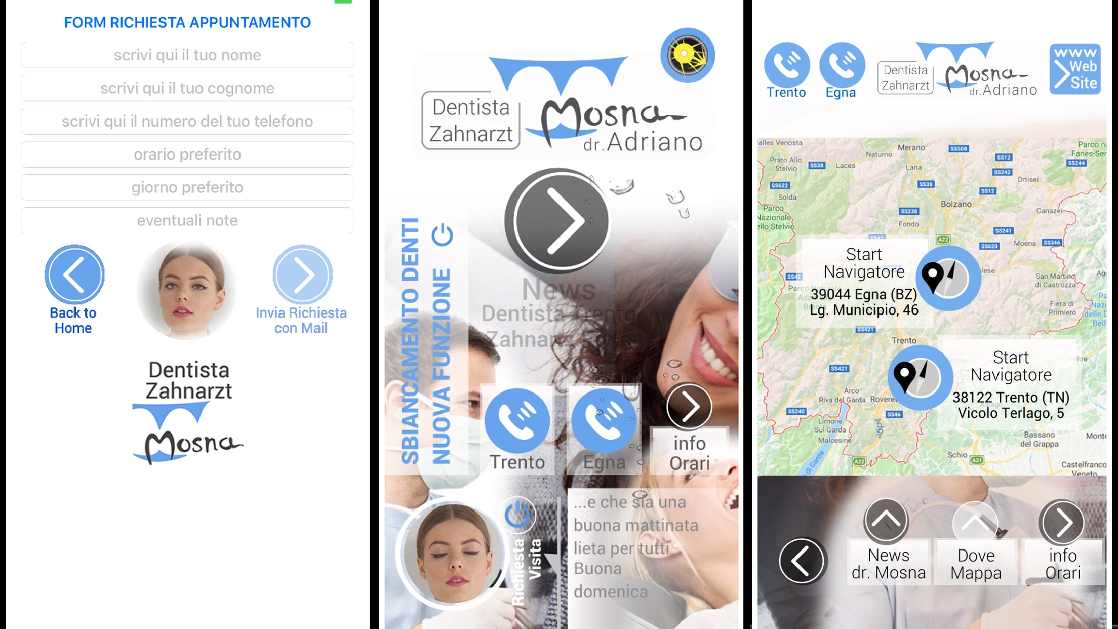 dentista trento su app store apple