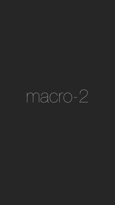 点击获取macro-2 by kruhft