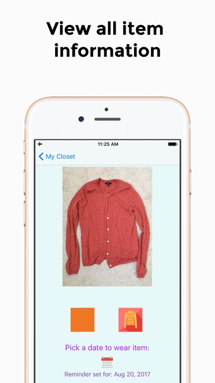 Deposit Your Closet -  A Closet Organizer screenshot-3