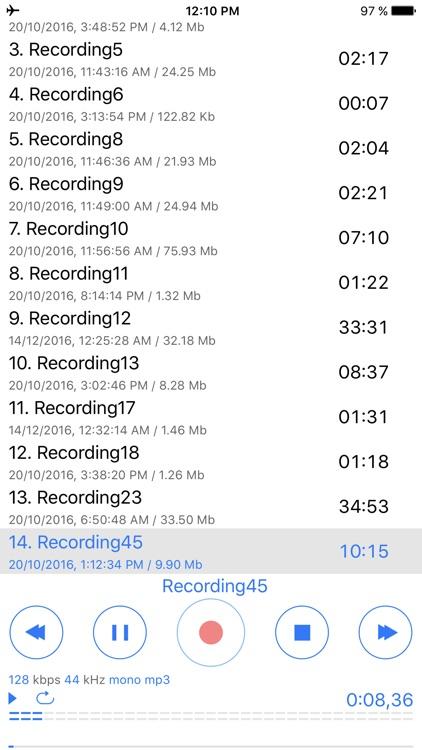 Dictaphone - Voice Dictation screenshot-5