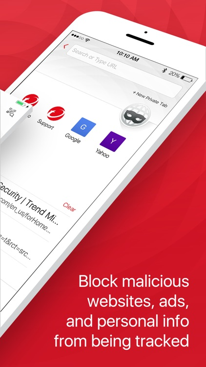 TM Mobile Security - WebFilter