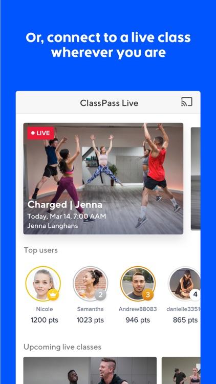 ClassPass screenshot-3
