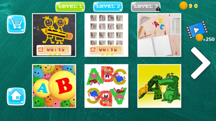 Puzzle ABC Alphabet Learning