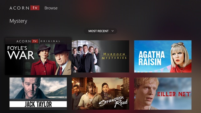 Acorn TV on the App Store