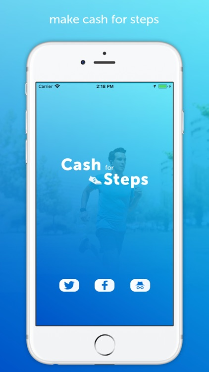 Cash for Steps