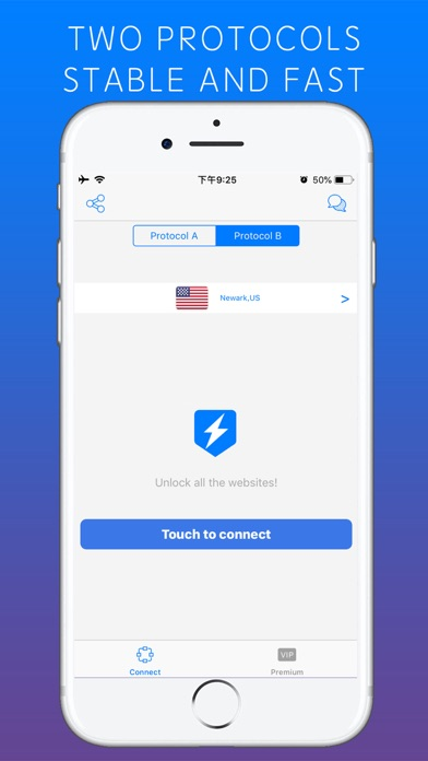 Lightning VPN - Security Proxy screenshot four
