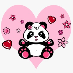Cute Panda Stickers Pack!