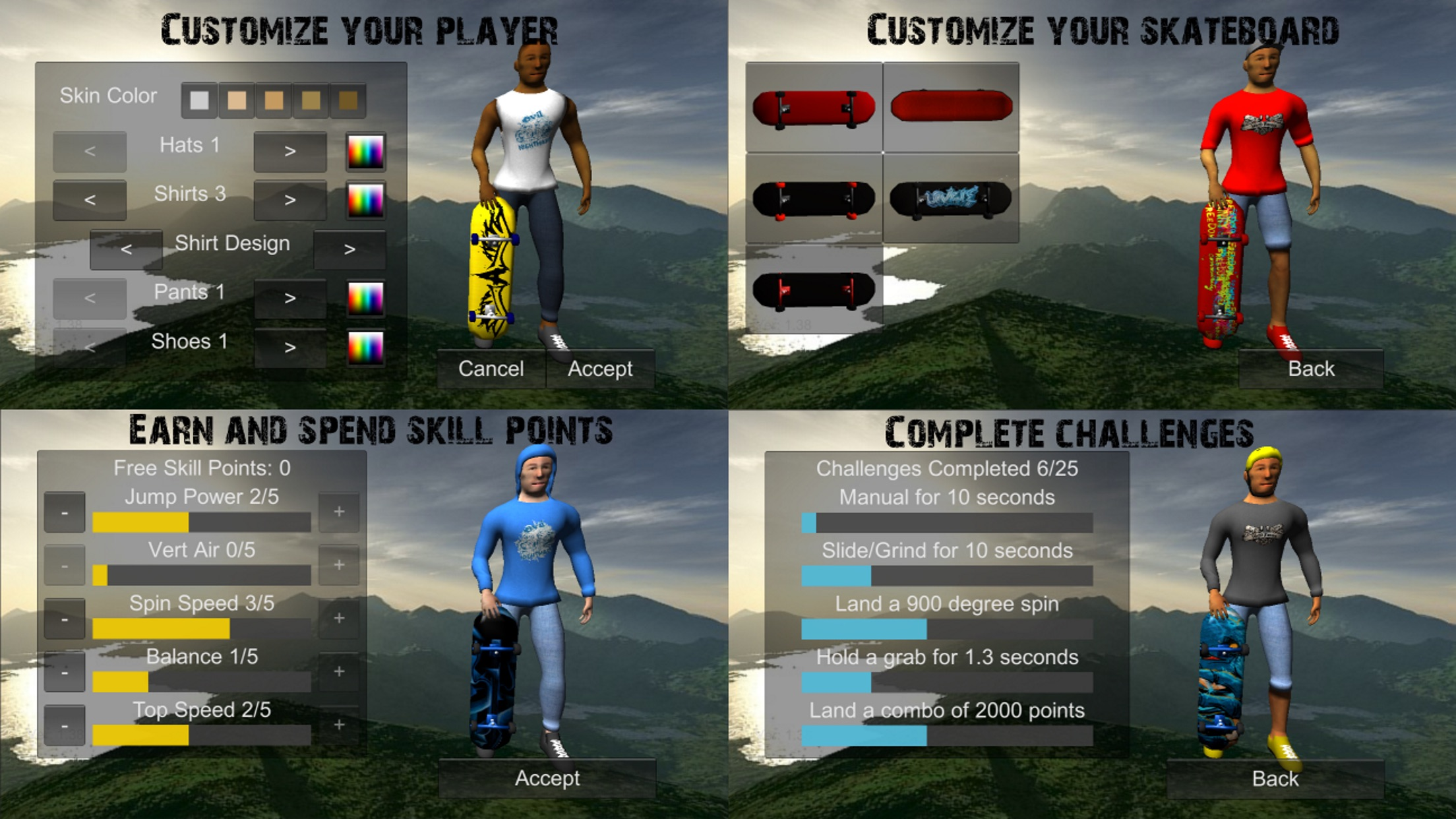 Skating Freestyle Extreme 3D Screenshot