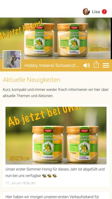 Hobby Imkerei Schwenzfeier screenshot 1