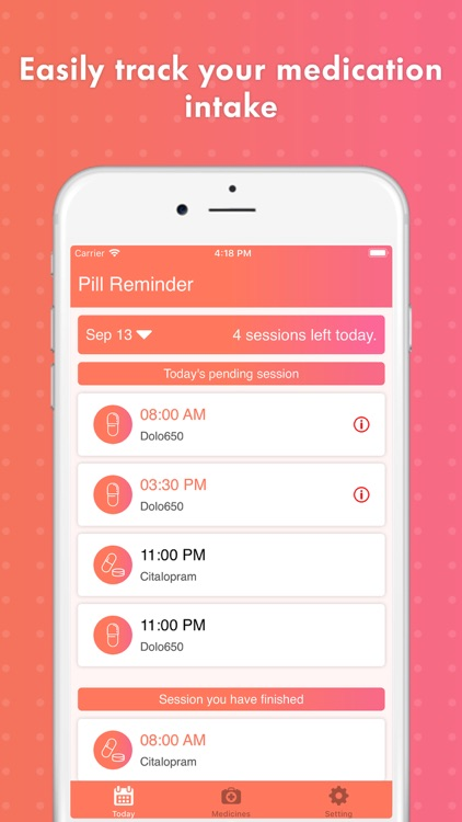 Smart Pill Reminder Tracker