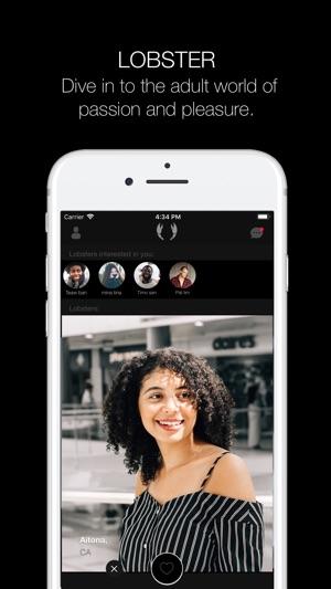 Dating apps op App Store