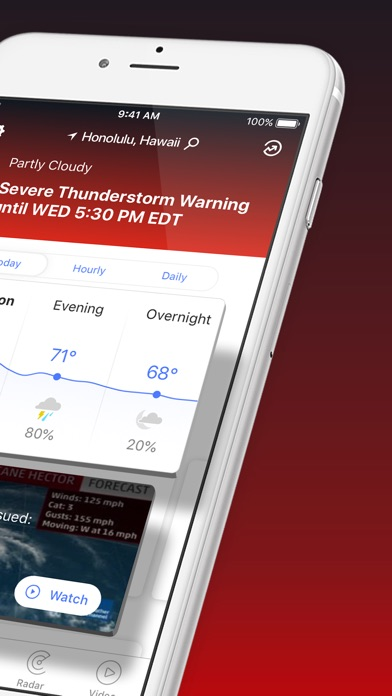 The Weather Channel: Live Maps for Windows