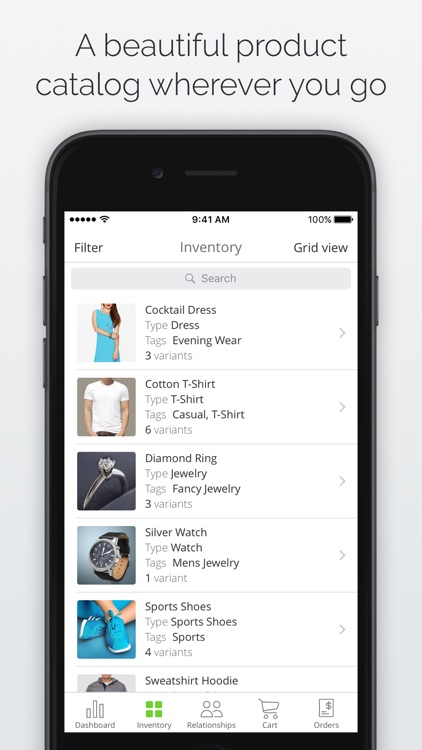 TradeGecko Mobile - Inventory, CRM and Sales