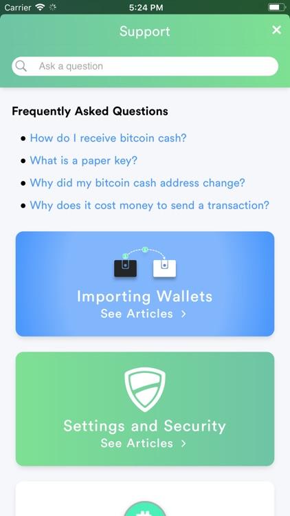 KeyDino: Bitcoin Cash Wallet screenshot-3