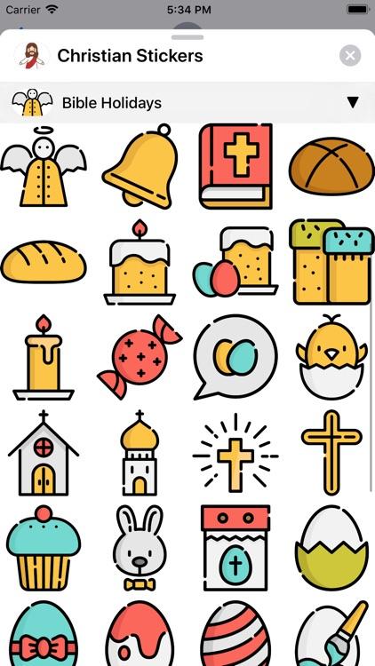 Christian Stickers App screenshot-9