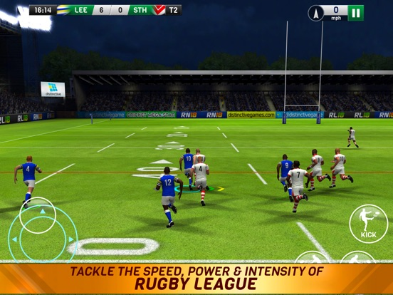 Rugby League 18 на iPad