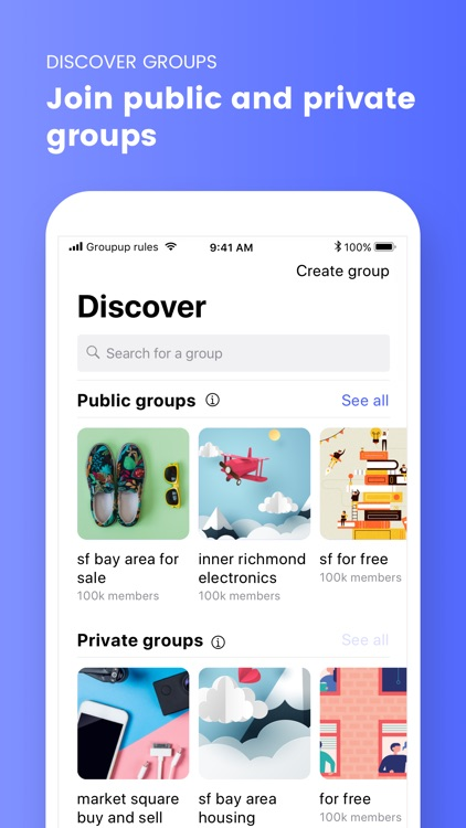 Groupup - Buy & Sell
