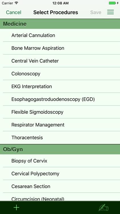 Procedure Log screenshot-4