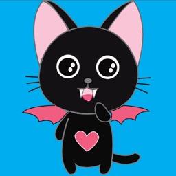 Vampire Kitty Stickers