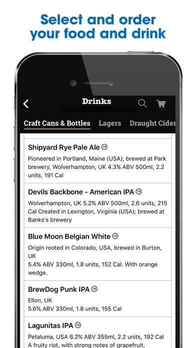 Screenshot for Wetherspoon in United Kingdom App Store