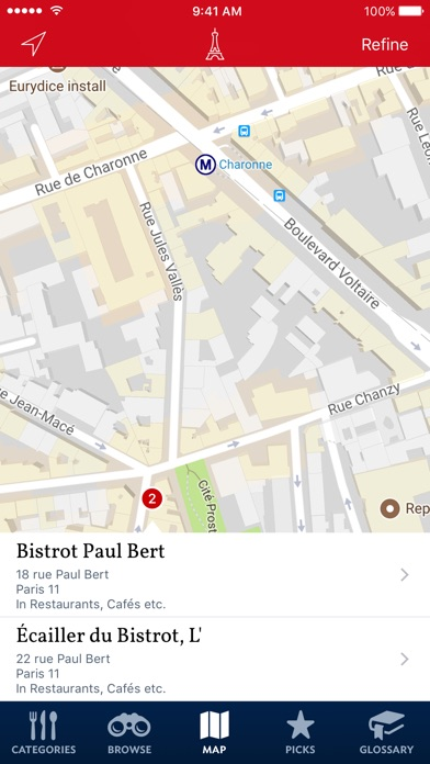 Food Lovers Guide To Paris review screenshots