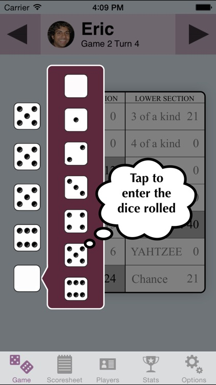 YZ Score - YAHTZEE® scoresheet screenshot-1