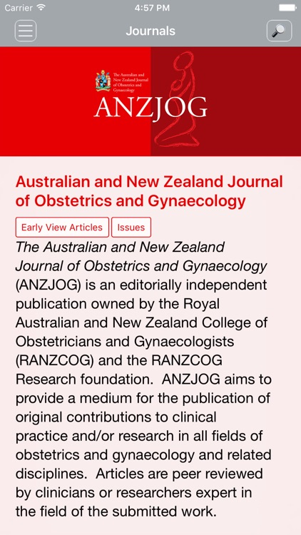 Aus & NZ Jnl of OBGYN