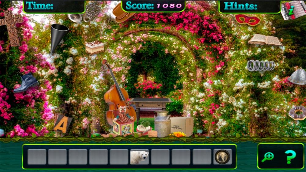Hidden Objects Enchanted Secret Garden Passages hack tool
