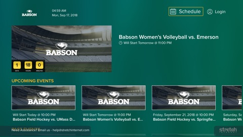 Screenshot #1 for Babson