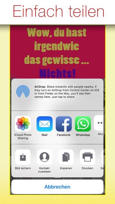 Freche Sprüche - SPRUCHBILDER screenshot 3