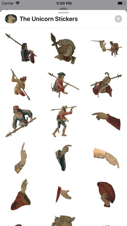 The Unicorn Stickers