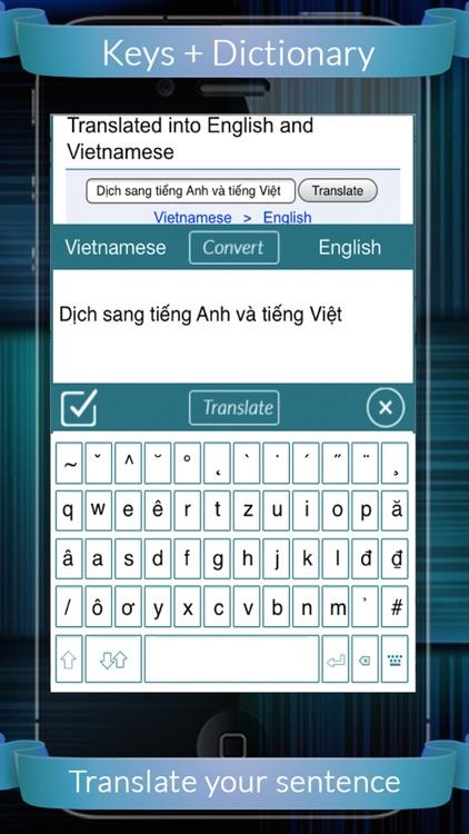 Viet Eng Dictionary + Keys screenshot-3