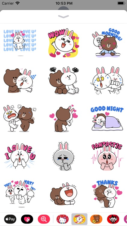 Birdie Cute Stickers for Texts